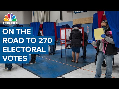 2020 Latest: Biden wins 3 Western states, Trump takes Idaho