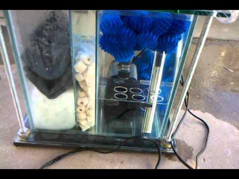 Filtro para acuario casero youtube for Filtro para pecera