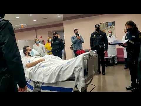 El inspector de la Policía Nacional herido tras ser embestido por unos narcos regresa a Algeciras