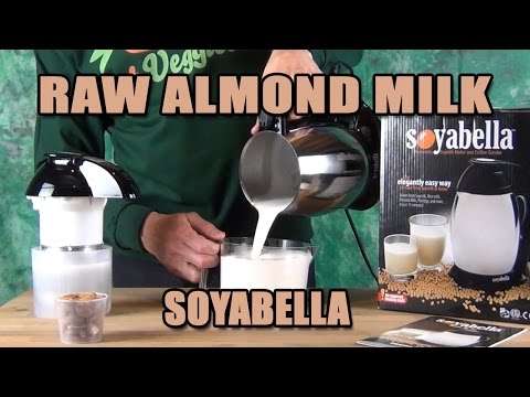 Raw Almond Milk in 2 minutes Soyabella