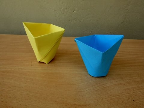 How To Make A Paper Cup Easy Tutorials You