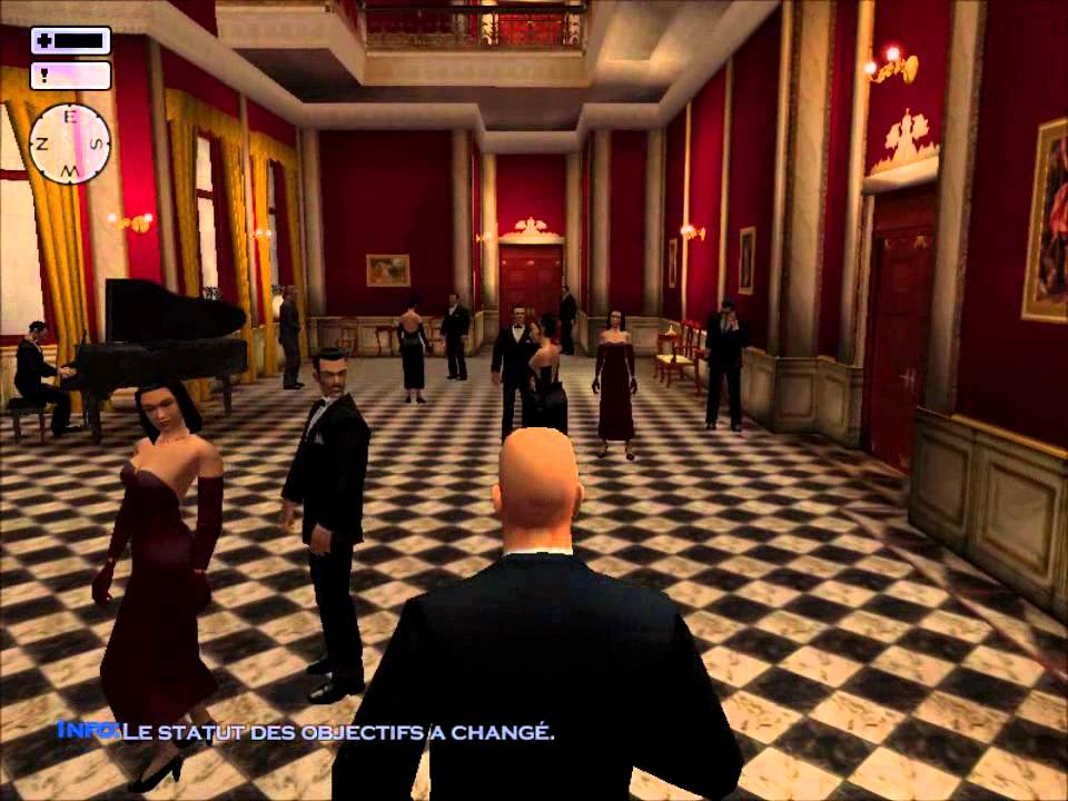Hitman Silent Assassin mission 5(Invitation to a party ...