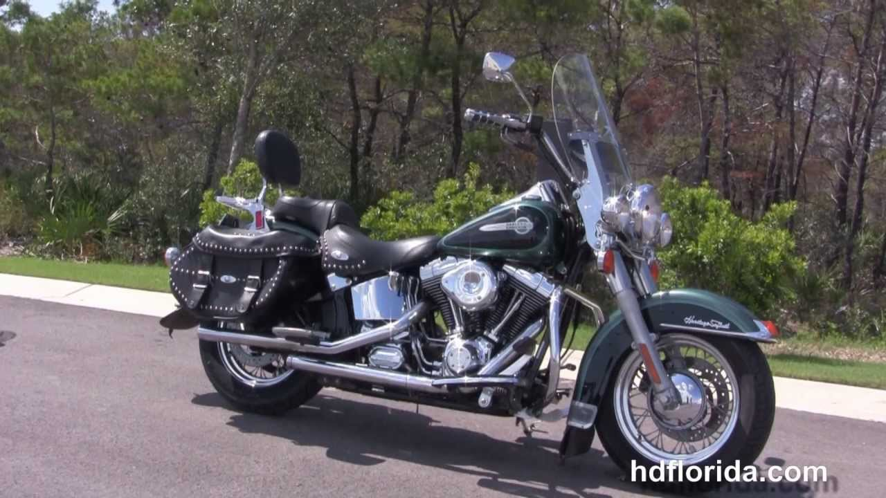2002 harley davidson heritage softail classic used motorcycles for sale youtube. Black Bedroom Furniture Sets. Home Design Ideas