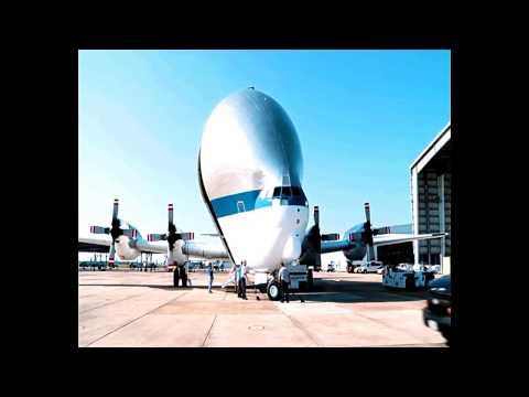 Latihan Aero Spacelines Super Guppy Pregnant Guppy