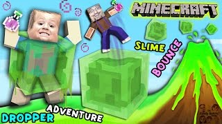 Minecraft Slime Bounce | FGTEEV Dropper Parkour Adventure Mini-Game Map(, 2016-01-08T20:58:42.000Z)