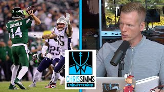 Game Review: Sam Darnold vs. Patriots' defense NFL Week 7 | Chris Simms Unbuttoned | NBC Sports