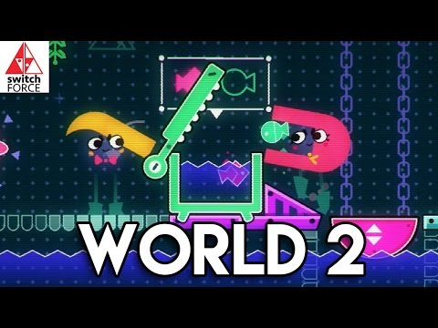 Snipperclips Gameplay - World 2 FULL GAME (Nintendo Switch Gameplay)