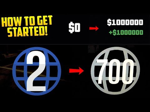 How To Get Started as a New Player in GTA Online! Making the Most Money from the Start!