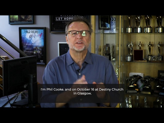 Phil Cooke at Destiny Church | Wednesday 16th Oct '19