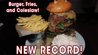 Crust's Cheeseburger Challenge
