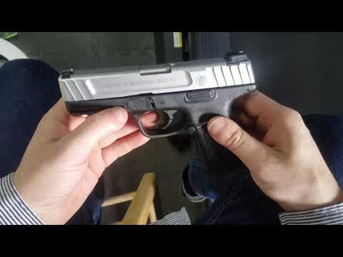 Smith & Wesson SD9VE Field Strip