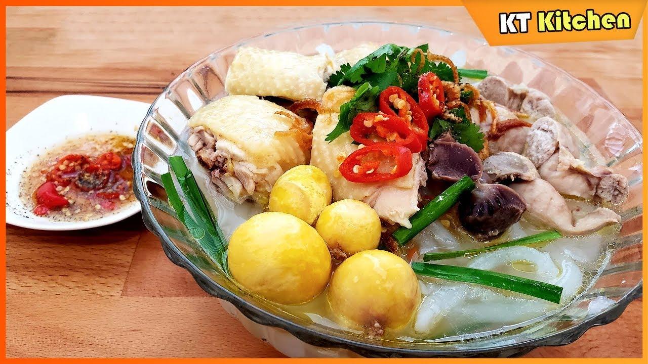 Cách Nấu BÁNH CANH GÀ Ngon Ngọt Đãi Tiệc và Cách Luộc Bánh Canh Không Bị Nát – Chicken Udon Soup