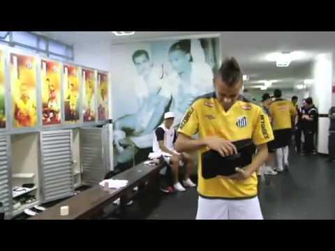 Neymar despedida Santos