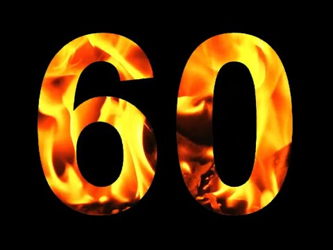 "60 Second Timer Countdown with Music - ""I'm on Fire"" 🔥 🔥 🔥 (headphones on - 8d AUDIO)"