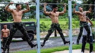 PULL UP yang benar saat tes masuk TNI   POLRI