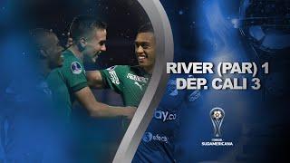 River Plate (PAR) vs. Deportivo Cali [1-3] | GOLES | Primera fase (Vuelta) | Sudamericana 2020