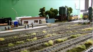 Small HO scale train layout