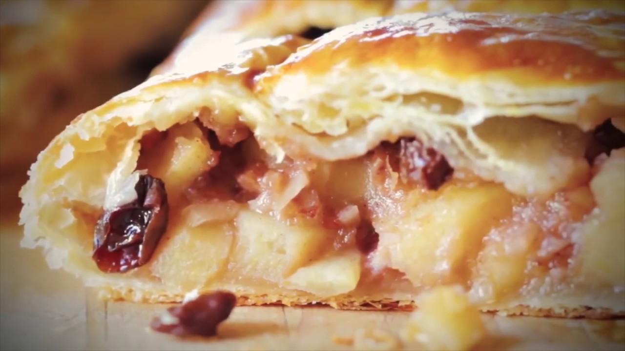 Яблочный Штрудель - Лучший Кулинарные Рецепт|кулинарный рецепт это
