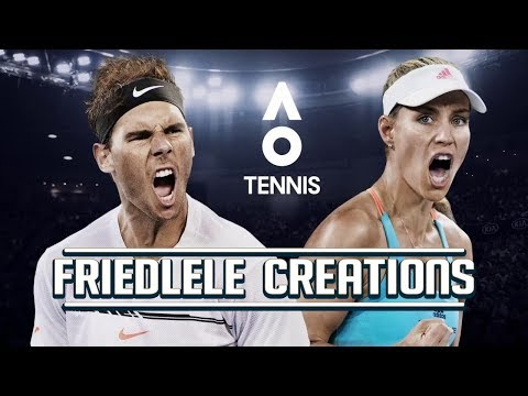 AO Tennis Patch 1.12 PS4 Gameplay  - Federer vs Dimitrov ABN AMRO Cup Rotterdam