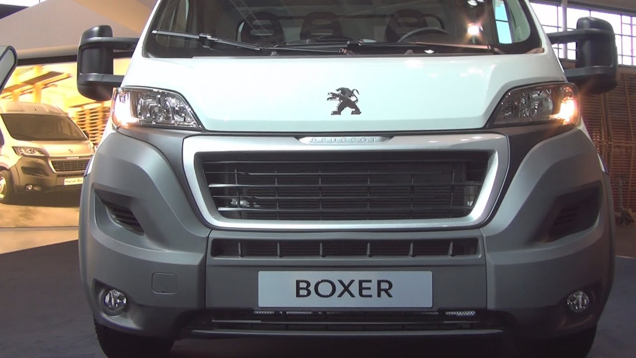 peugeot boxer cargo edition 435 l3 2014 exterior and interior in 3d 4k uhd youtube. Black Bedroom Furniture Sets. Home Design Ideas