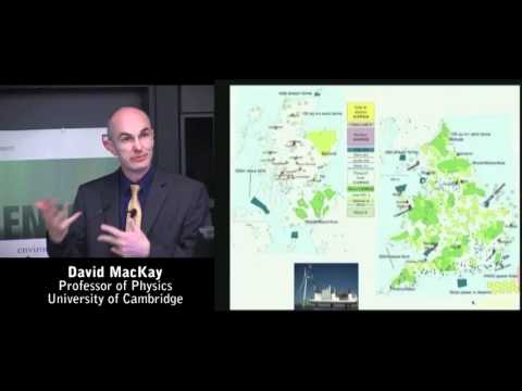 Sustainable Energy - Without the Hot Air with David MacKay