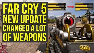 Far Cry 5 New Update CHANGED A LOT OF WEAPONS (Far Cry 5 Weapons - Far Cry 5 Best Weapons)