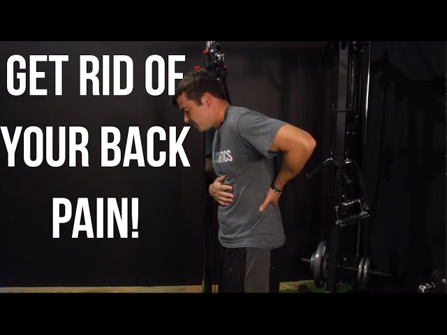 GET RID OF BACK PAIN (WATCH)