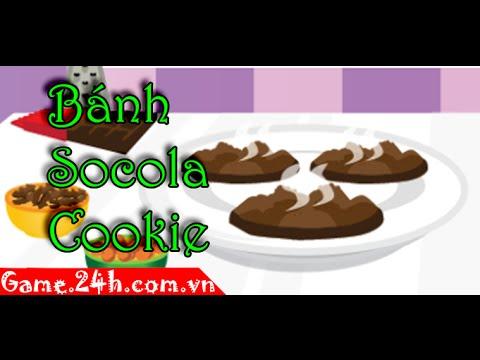 Game bánh socola cookie – Video hướng dẫn chơi game 24h