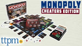 Monopoly Cheaters Edition Board Game - Rules and Review | Hasbro Toys & Games