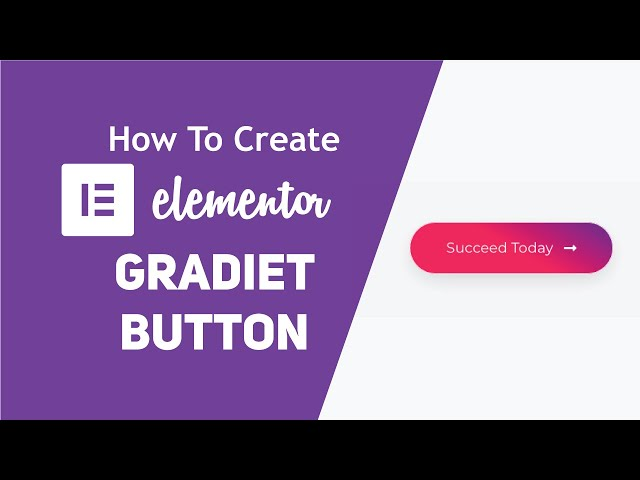 How to Create a Gradient Button In Elementor (Piotnet Addons)