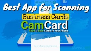 CamCard - Best App for Scanning Business Cards screenshot 1