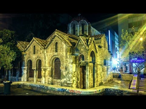 Athens Art and Religious Monuments - Hellas, Greece