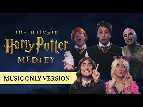 The Ultimate Harry Potter Medley MUSIC ONLY + BTS!