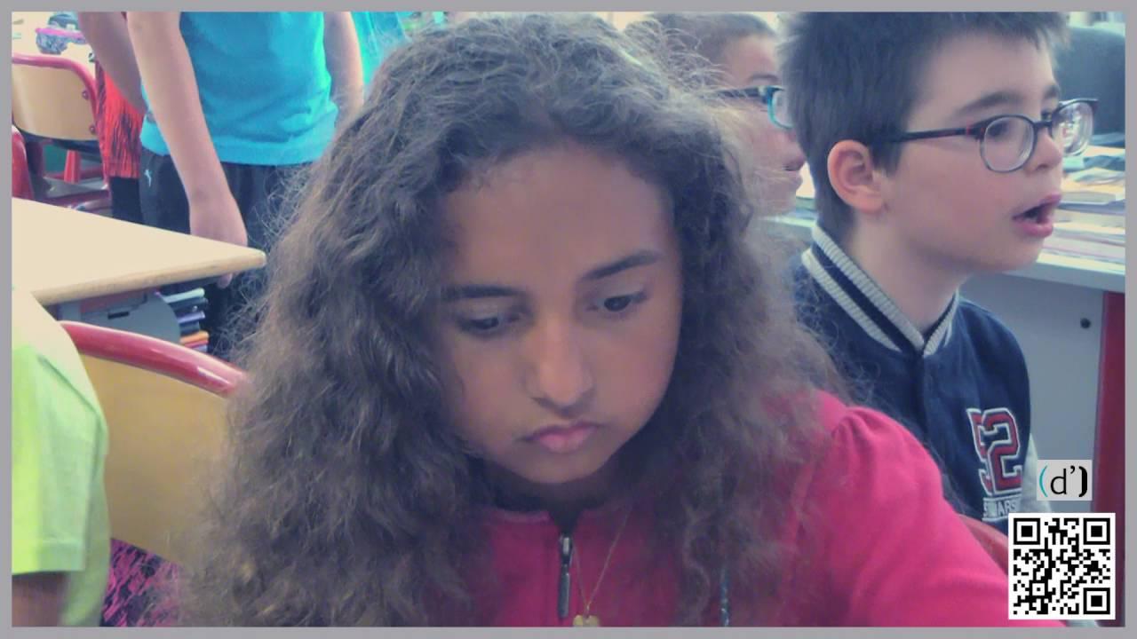 Des enfants déficients visuels envisagent leur avenir professionnel à Grenoble