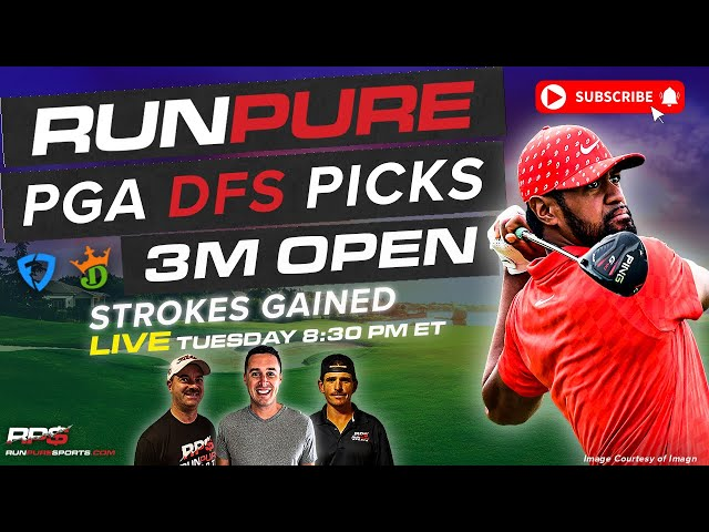 3M OPEN DRAFTKINGS PGA PICKS - STROKES GAINED