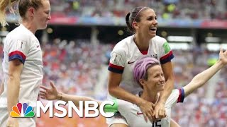 Women's Soccer Team Captures Hearts Nationwide... But Not In The Oval Office., From YouTubeVideos