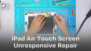 iPad Air Touch Screen Partially Unresponsive Repair