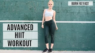 Advanced Plyometric HIIT Workout For Weight Loss | MFit