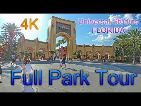 [4K] Full Park Tour - Universal Studios Florida