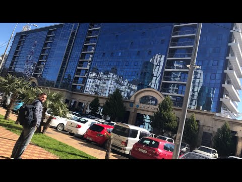 Сочи. Отель Маринс Парк Отель. Заселение, обмен номера на люкс и питание: завтрак и ужины.