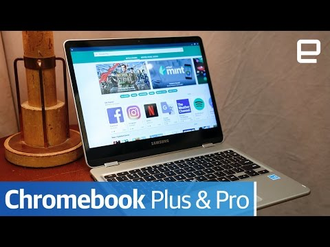 Samsung Chromebook Plus & Pro: Hands-On