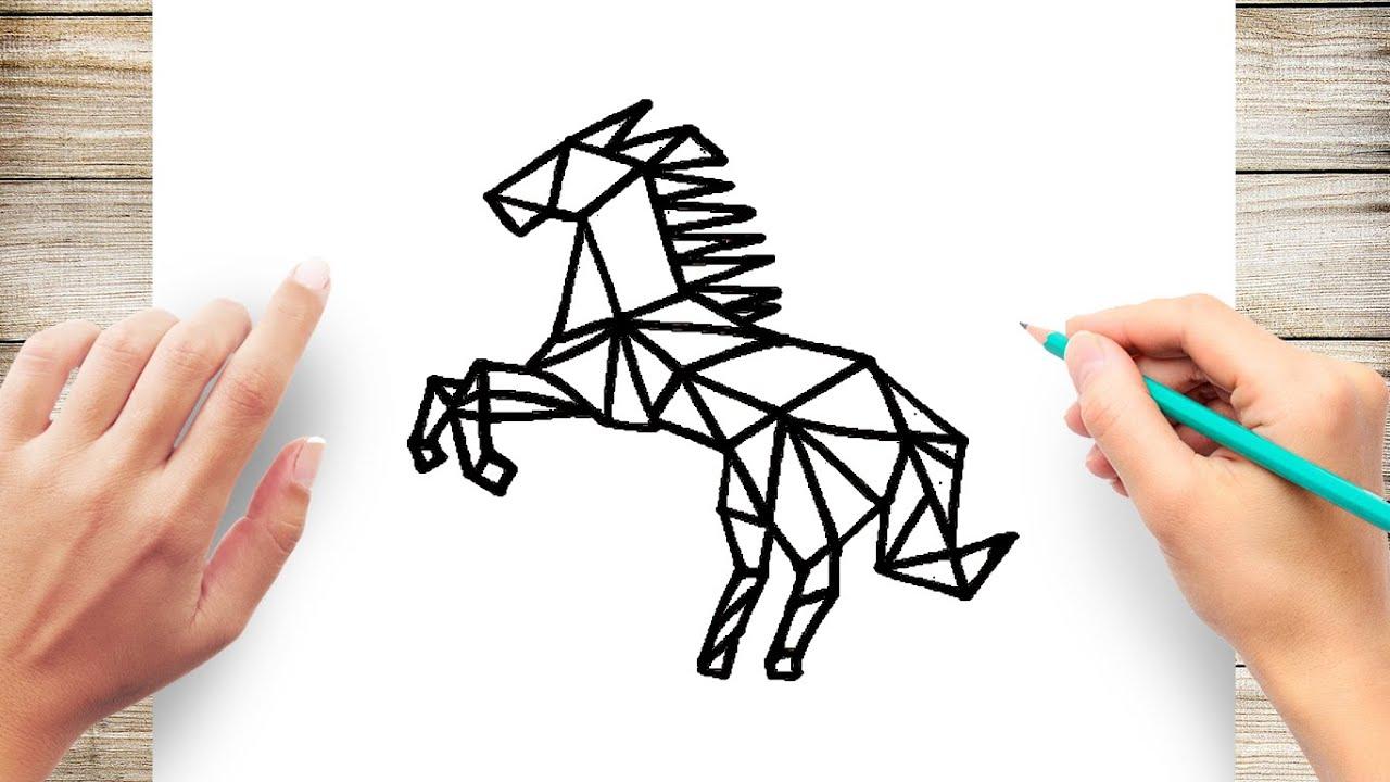 How To Draw Geometric Animals