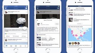 Facebook to remove trending news section and show background detail about news publishers an...