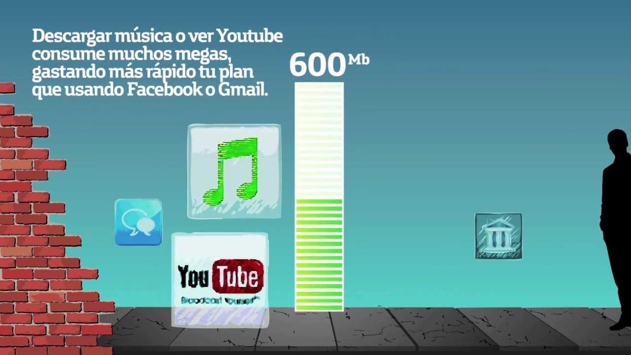 b2fbaac938a Ahora en tu Cel Movistar ¡Más Megas para Siempre! - YouTube