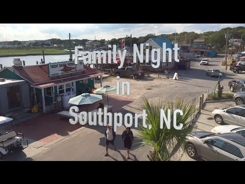 Family Night In Southport, NC
