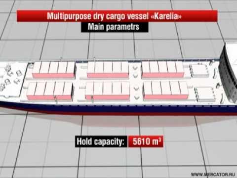 "08.06.2010 multipurpose dry cargo vessel ""Karelia"""