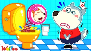 Download Mp3 No No Wolfoo This Is Lucy s Potty Kids Stories About Potty Training of Wolfoo Wolfoo Channel