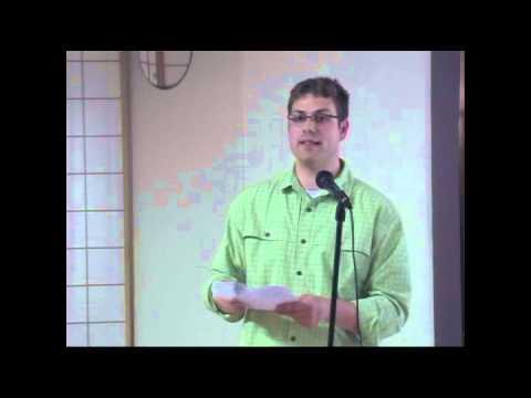 Zach Baker at the 3rd Green Granger Summit in Eugene