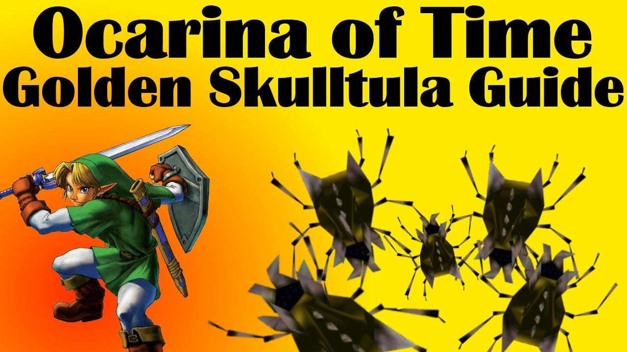 Ocarina of Time - Gold Skulltula Guide