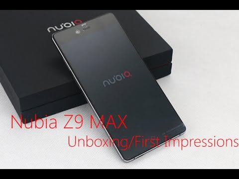 Nubia Z9 MAX - Unboxing/First Impressions, Antutu 50000+,  www.Smartzero.sk